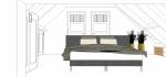 Interieurontwerp slaapkamer