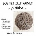 putkha wit bal 12 cm