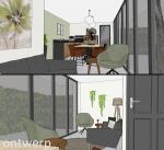 ontwerp tuinkamer
