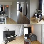 Foto's woonkamer voor verbouwing en restyling