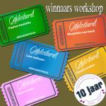 winnaars jubileum workshop