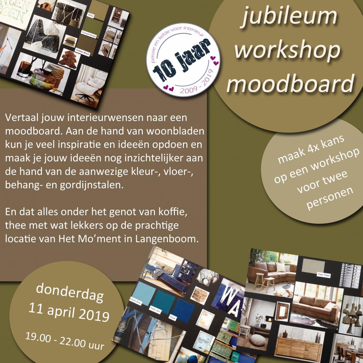jubileum workshop